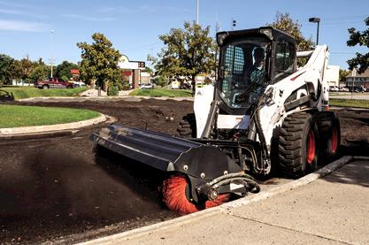 Angle Broom s850-M2 Skid Steer Loader