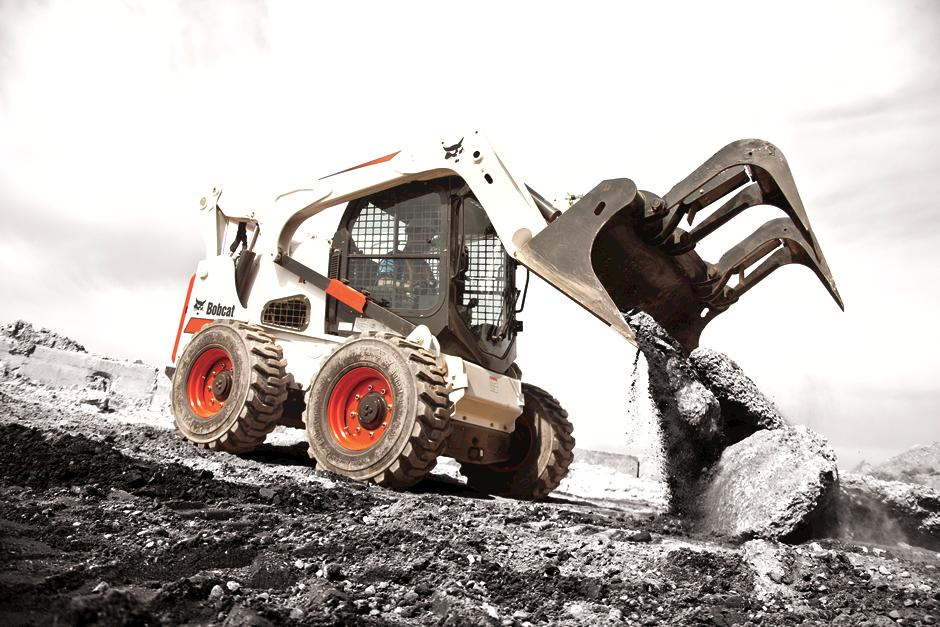 Bbocat S850 Skid-Steer Loader.