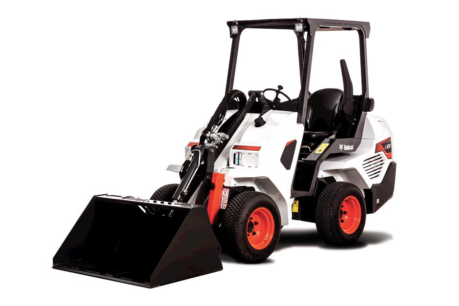 Bobcat L23 Compact Articulating Loader Studio Shot