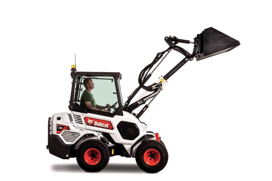 L28 Compact Articulating Loader With Telescoping Lift Arm