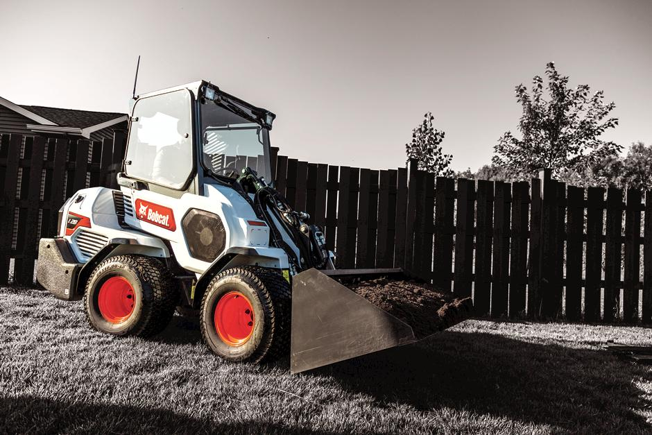 Bobcat Small Articulated Loader Promoted At Trade Shows