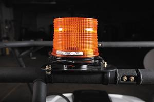 Strobe light accessory for Bobcat utility vehicles.