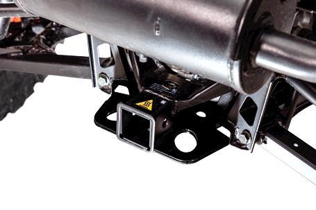 Bobcat Utility Vehicle (UTV) hitch