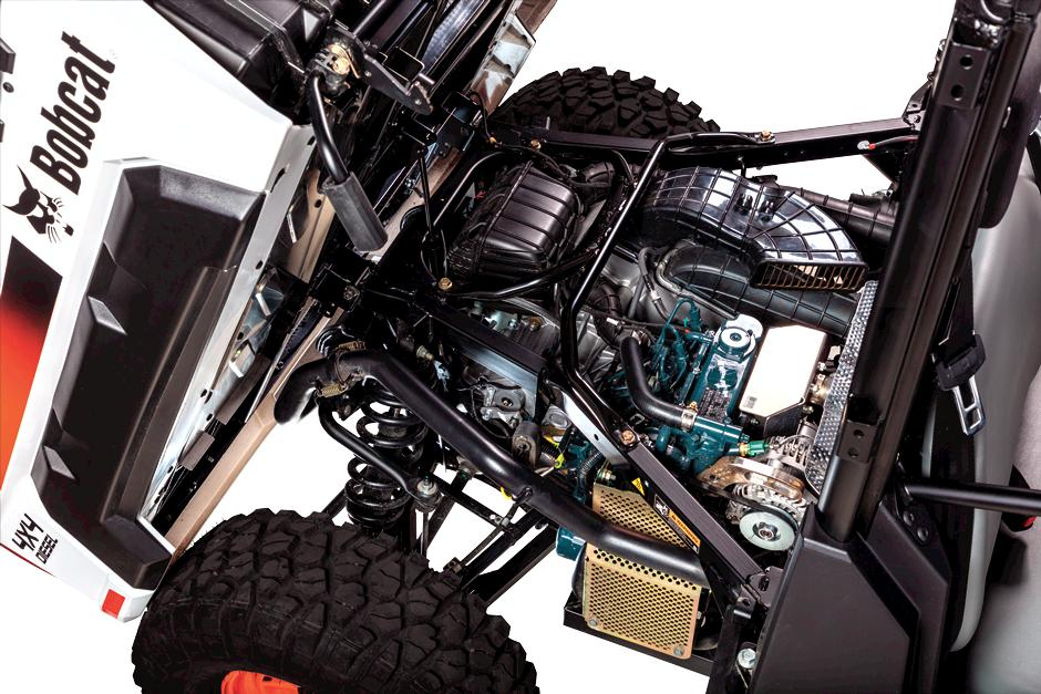 Bobcat Utility Vehicle (UTV) engine.