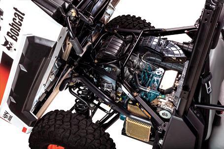 Bobcat Utility Vehicle (UTV) engine.