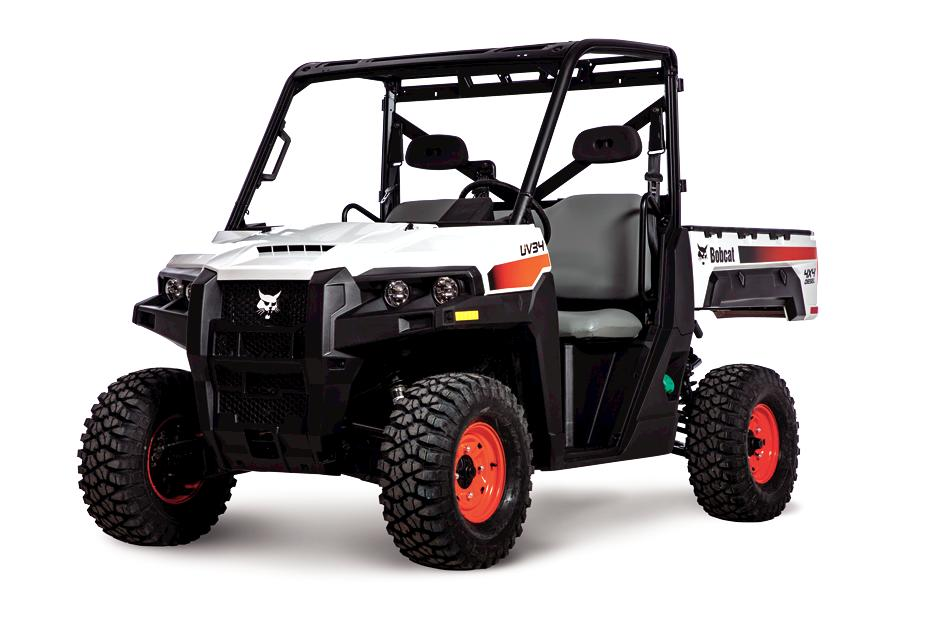 Bobcat UV34 Diesel Utility Vehicle (UTV).