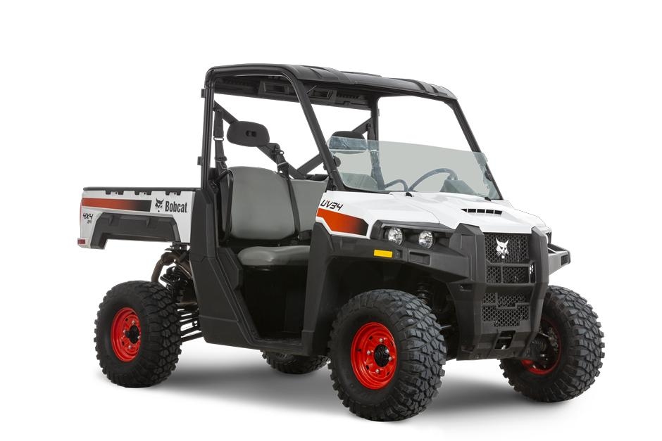 Bobcat UV34 Gas Side-By-Side UTV Image On White Background