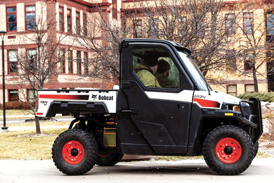 Bobcat Utility Vehicle With Premium Door Kit For UV34