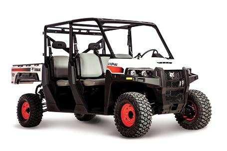 Bobcat UV34XL Diesel Utility Vehicle (UTV).