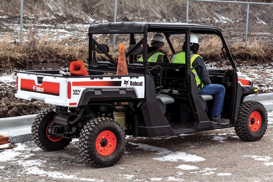 Bobcat UV34XL Driving With Passenger