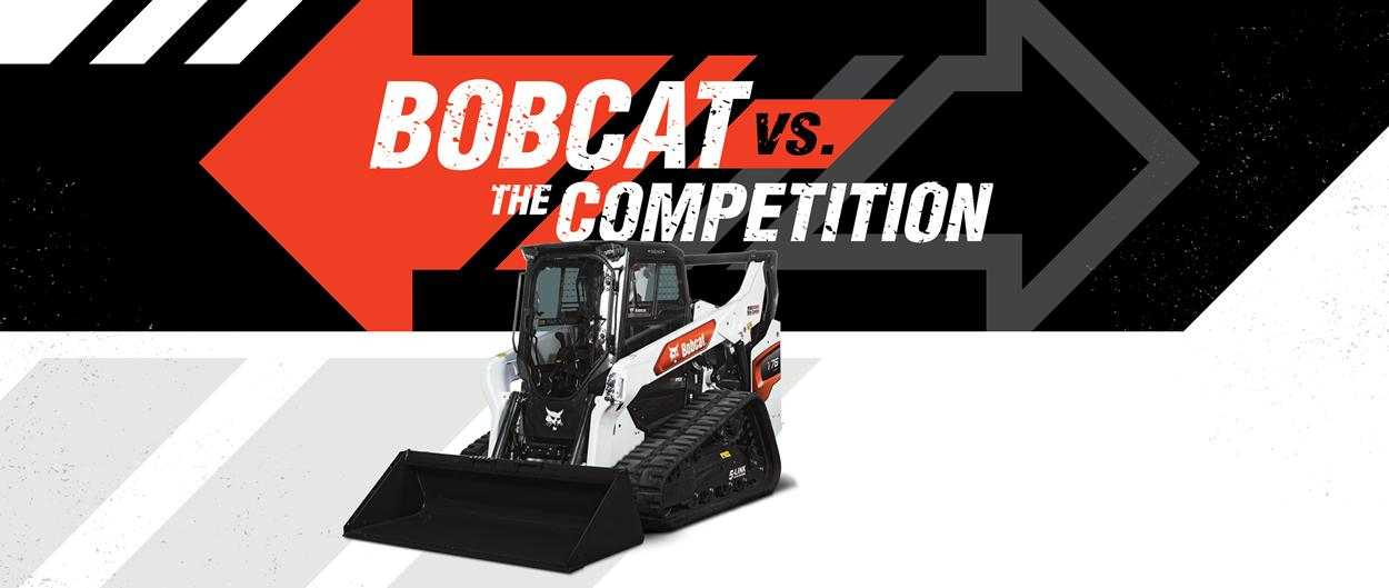 Bobcat T76 Compact Loaders Vs. CAT 289D Compare Models Hero Spot