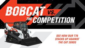 Bobcat T76 Compact Track Loader Vs. Cat 289D3 Competitive Comparison Preview Image