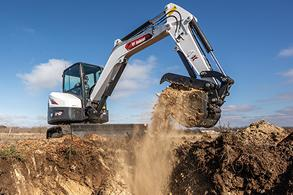 Bobcat Mini Excavator Sales Program Promotion Image