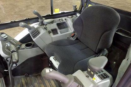 Cab comfort.