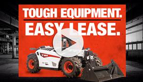 Bobcat V519 VersaHANDLER telescopic tool carrier (telehandler) leasing video.