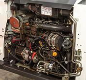 Internal Components Of The Bobcat S510 Skid-Steer Loader