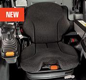 Heated Air-Ride Seats in R-Series Loaders From Bobcat