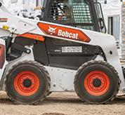 Maintenance-free chaincase on Bobcat skid-steer loaders.