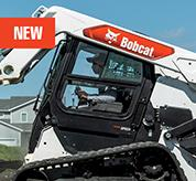 High-Visibility and Clear-Side Enclosure on R-Series Loaders From Bobcat