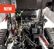 : Bobcat Loader Panoramic Serviceability