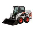 Studio Image Of Bobcat S510 Skid-Steer Loader With Bucket Attachment