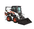 Studio Image Of Bobcat S66 Skid-Steer Loader With Bucket Attachment