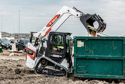 Revolutionary R-Series Compact Loaders