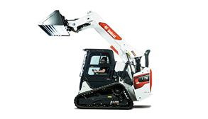 Bobcat Compact Track Loader With Raised Lift Arm
