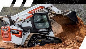 Bobcat Equipment Working in the Dirt