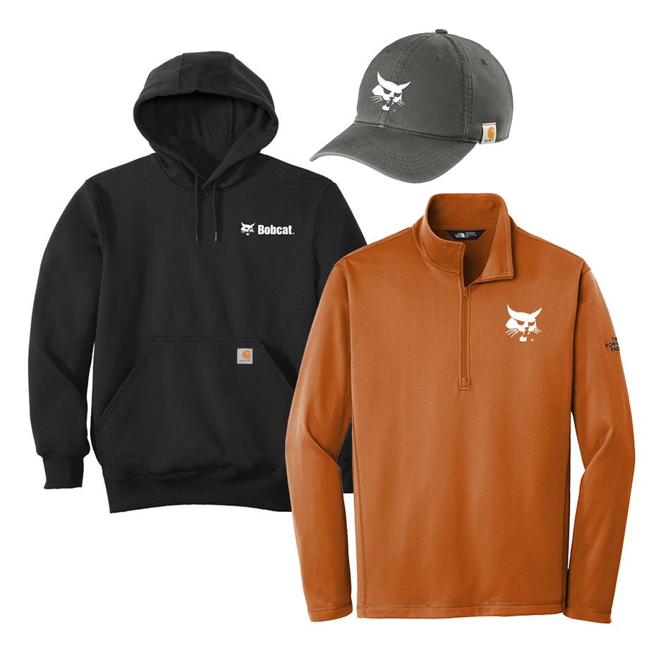 Knockout Images Of New Bobcat Branded Clothing Featured On The Bobcat Online Brand Store.