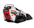 Studio Image Of Bobcat MT55 Mini Track Loader With Bucket Attachment