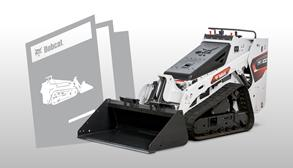Bobcat Mini Track Loader Brochure Promotional Image