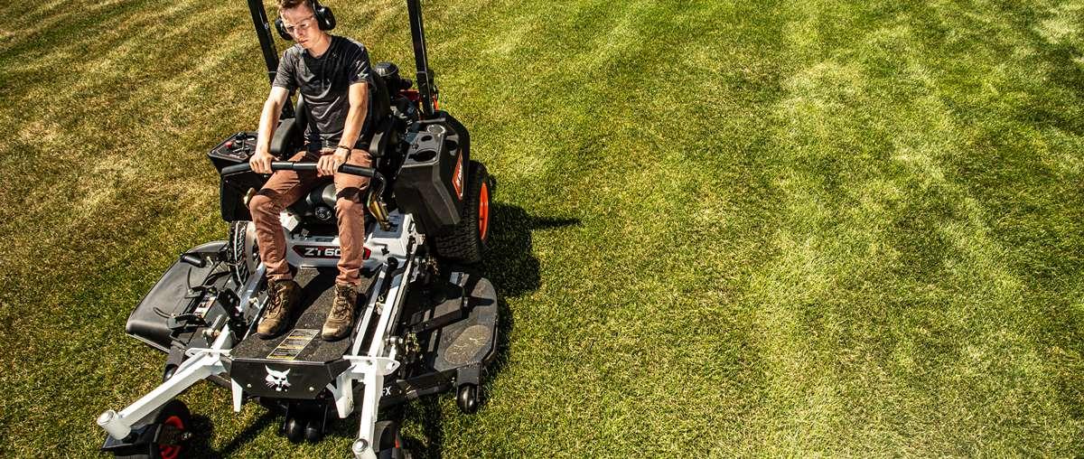 Bobcat ZT6000 Zero-Turn Mower In Action