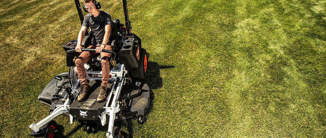 Bobcat ZT6000 Zero-Turn Mower In Action