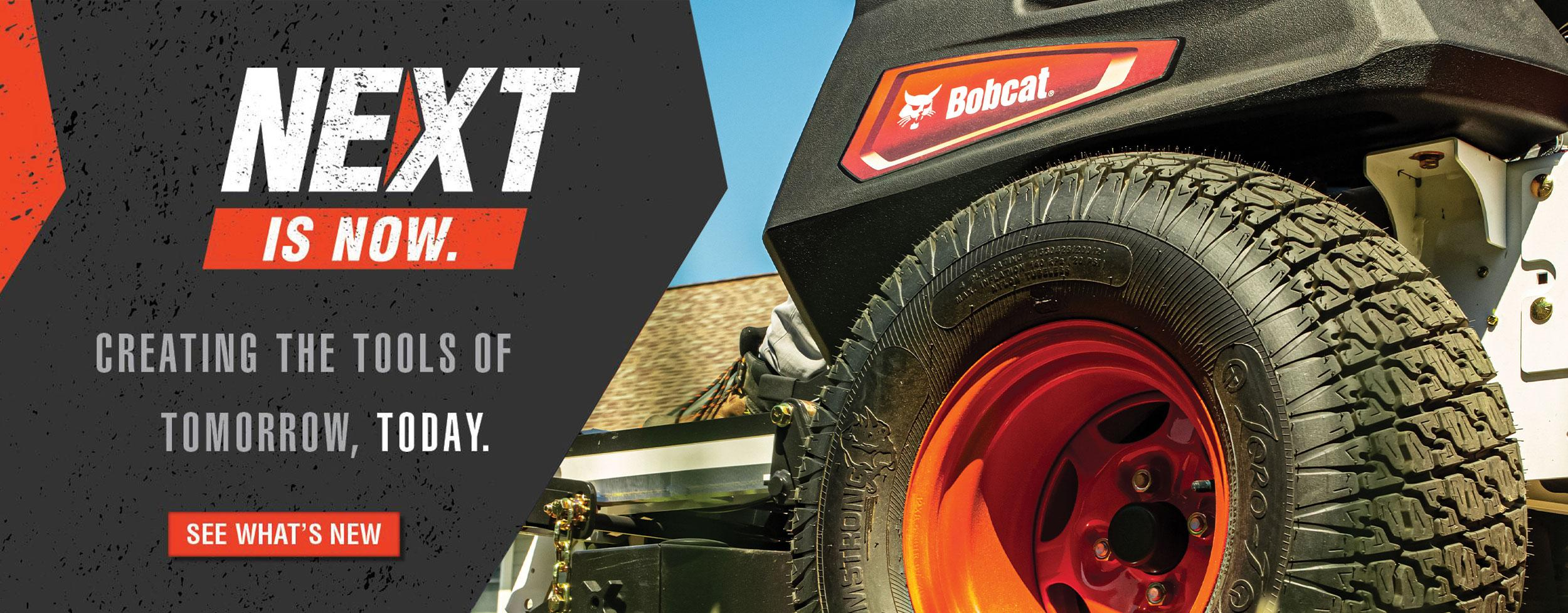Bobcat Compact Equipment Tire Side View