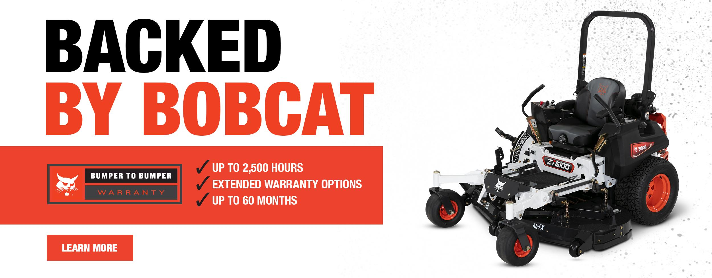 New Bobcat Zero-Turn Mower Side View