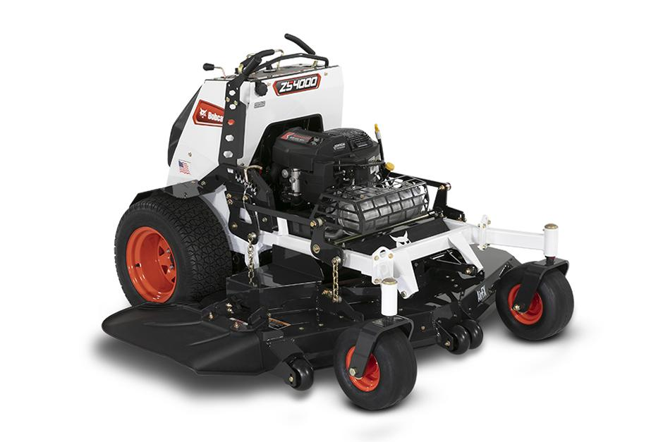 Bobcat ZS4000 Zero-Turn Stand-On Mower Side View