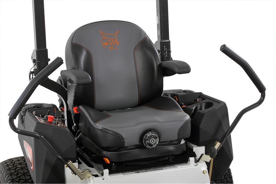 Bobcat ZT3500 Zero-Turn Mower Seat and Command Center