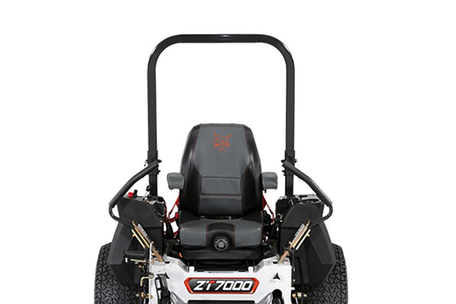 Bobcat ZT7000 Zero-Turn Mower Seat and Comfort Command Center