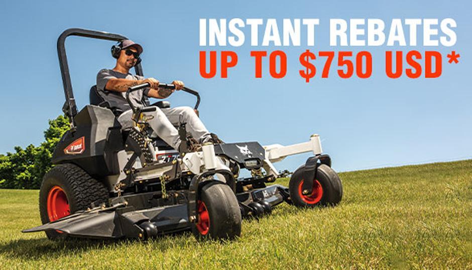 Rebates up to $750 USD*