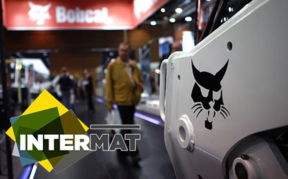 Bobcat at Intermat