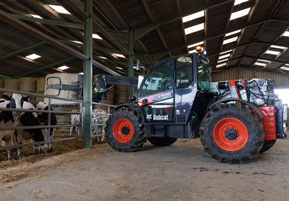 Bobcat's TL43.80HF Telescopic Loader − Farmer's Choice