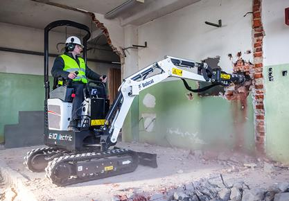 New E10e 1 Tonne Electric Mini Excavator