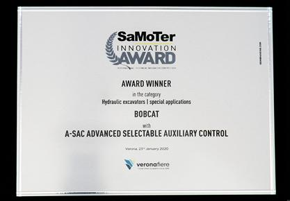 Samoter 2020 Innovation Award