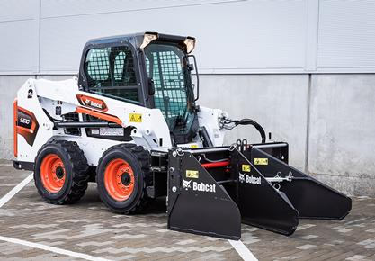 Bobcat Adds New Soil & Asphalt Spreader Attachment