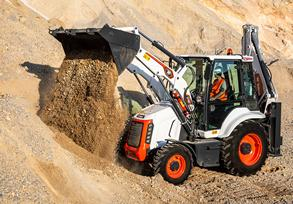 New Generation R-Series B730 Backhoe Loader from Bobcat