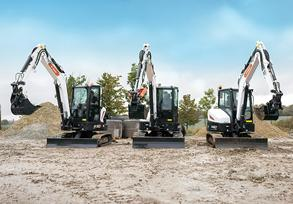 New R2-Series 5-6 tonne Mini-Excavators from Bobcat
