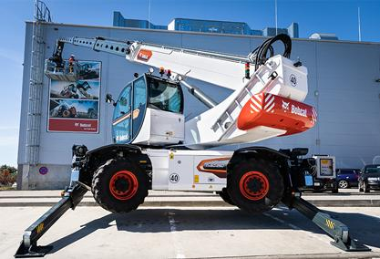 New Generation Rotary Telehandler Range from Bobcat