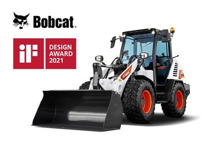 La nouvelle chargeuse sur pneus Bobcat remporte la catégorie produit du prix international iF Design Awards