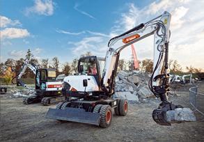 New 6 tonne Wheeled Excavator from Bobcat